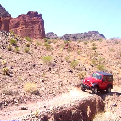 Shop Lake Havasu - Taking The Jeep Out For A Ride