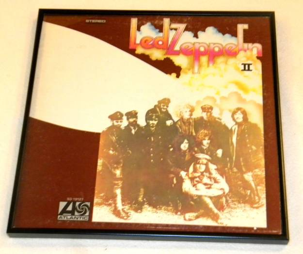 Framed Album Cover Led Zeppelin II by Led Zeppelin