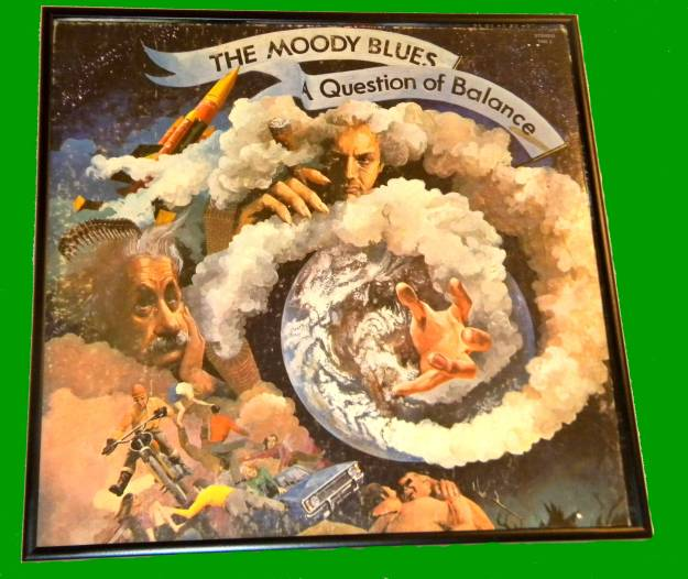 Framed Album Cover The Moody Blues - A Question of Balance