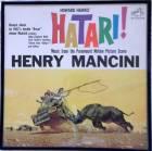 Framed Vintage Record Album Cover HATARI HENRY MANCINI