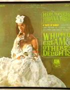Vintage Record Album Cover WHIPPED CREAM AND OTHER DELIGHTS HERB ALPERT